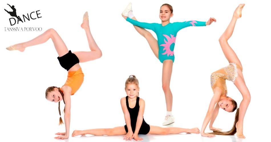 akrobatia porvoo, tanssiva porvoo akrobatia, tanssitemput porvoo